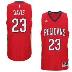 5f0055fad 2014-15 Adidas New Orleans Pelicans Anthony Davis adidas Red New Swingman  Alternate Jersey Cheap