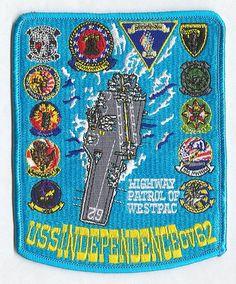 USS Independence (CVA/CV-62) patchs