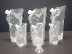 Rum Runner Cruise Kit >>> Do you think the prices of drinks on cruises are outrageous? Beat them at their own game with these plastic flasks made specifically to sneak alcohol aboard cruises.