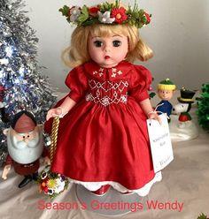 Madame Alexander Season's Greetings Wendy