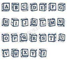36 Best Baby Blocks Tattoos Designs images   Baby blocks ...