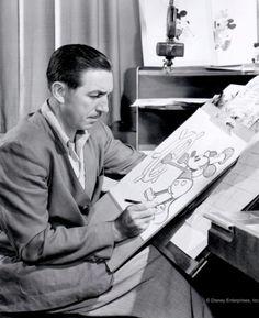 """""""Mickey was Walt, and Walt was Mickey."""" - Animator Frank Thomas"""