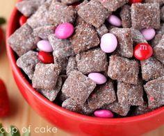 Chocolate Strawberry Puppy Chow
