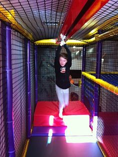 Gift certificates, membership at indoor playgrounds like Catch Air, Mighty Jumps, Kangazoom, Sensations Fun Therapy, etc.