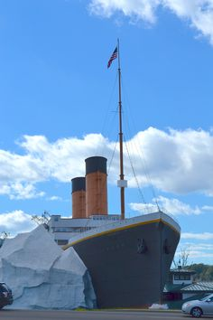 The Titanic Museum in Pigeon Forge http://www.visitmysmokies.com/what-to-do/attractions/titanicmuseum/