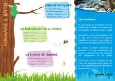 Livret scolaire éducation à l'environnement : la rivière