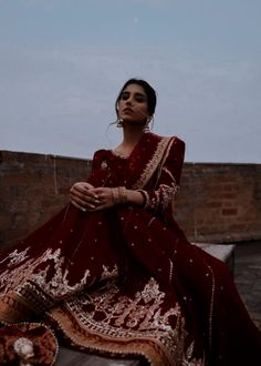 Pakistani Wedding Dresses, Indian Wedding Outfits, Bridal Outfits, Indian Outfits, Indian Gowns, Indian Fashion Dresses, Indian Designer Outfits, Indian Aesthetic, Indian Photoshoot