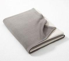 Ombre Stroller Blanket, Gray