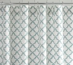 Marlo Shower Curtain #potterybarn - What?? A shower curtain named after me?!  OBVIOUSLY I have to buy it!