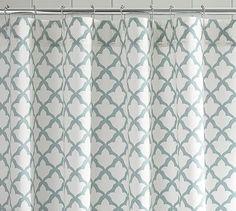 Marlo Organic Shower Curtain #potterybarn