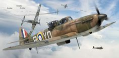 Boulton Paul Defiant Mk I, 255 Sqn. RAF, Battle of Britain, 1940, by Adam Tooby