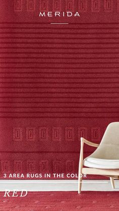 Rug Inspiration, Home Interior Design, Red Color, Area Rugs, Carpet, Bedroom, Rugs, Bedrooms, Blankets