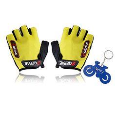 Lerway Bicycle Bike Cycling Short Gloves MTB Riding Gel Silicone half finger Keychain (Yellow, M) Lerway http://www.amazon.com/dp/B00NARX0ES/ref=cm_sw_r_pi_dp_FLWrvb114DTN0