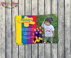 Wiggles Birthday, Wiggles Party, The Wiggles, 2nd Birthday, Birthday Parties, Birthday Ideas, Personalized Birthday Invitations, Printable Invitations, Printables