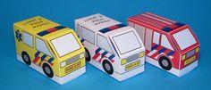 brandweer politie ambulance traktatie