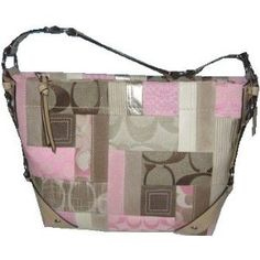 Coach Patchwork Signature Carly Shoulder Sac Bag Purse 13720 Pink (Apparel)  http://www.coach-outlets.net/amzn.php?p=B002KB8HCA  B002KB8HCA