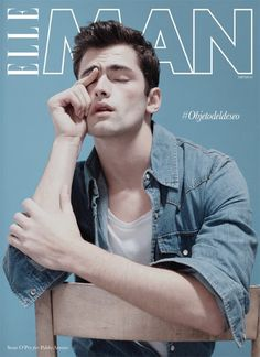 Male Fashion Trends: Sean OPry en portada de Elle Man México Spring 2013
