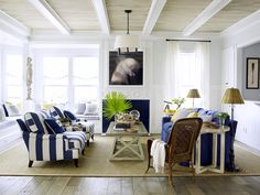 Get a Coastal-Chic Look With These 10 D via @MyDomaine