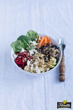 #Florette Pinterest Superfood-Gewinnspiel // Rezept 2: Superfood Salad Bowl mit Hirse, Roter Bete und Baby Kale (junger Grünkohl): http://florette.de/rezepte/rezept/superfood-salad-bowl-mit-hirse-roter-bete-und-baby-kale-junger-gruenkohl // Gewinnspiel und Teilnahmebedingungen: http://florette.de/aktuelles/superfood-gewinnspiel-pinterest // Hashtags: #Superfood und @florette_de // In Kooperation mit @liebeleiblog