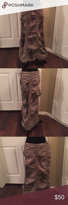 "XCVI lung boho skirt Never wore so like new. Ties at waist. 17"" waist fully opened. 33"" long XCVI Skirts Maxi"