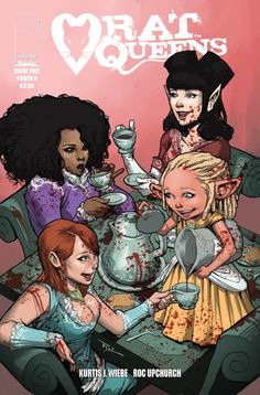 Rat Queens - Gold, Guts and Grog, Part 5 (Issue) Nerd Poker, Rat Queens, Alternative Comics, Pin Up, Best Comic Books, Image Comics, Geek Girls, Comic Book Covers, Dark Horse