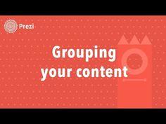 ▶ Prezi Tutorial: Grouping Content in Prezi - YouTube