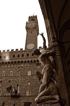#италия,  #Флоренция  #площадь