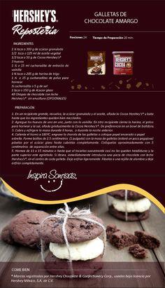 ¡Prepara esta deliciosa receta con Chocolate Hershey's®! #Hersheys #Chocolate…