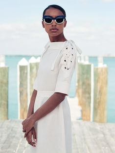 beyond the sea: jasmine tookes by bjarne jonasson for uk elle may 2015   visual optimism; fashion editorials, shows, campaigns & more!