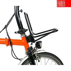 Fahrer Front Rack for Brompton Bicycle Panniers, Bicycle Rack, Bicycle Parts, Brompton, Three Wheel Bicycle, Folding Bicycle, Bike Trailer, Bike Style, Bicycle Accessories