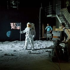 The Moon-Landing Hoax trope as used in popular culture. The Apollo 11 moon landing in 1969 is one historical event that conspiracy theorists love to. Moon Landing Fake, Apollo 11 Moon Landing, Ghost World, Back To The Moon, Man On The Moon, Stanley Kubrick, Terre Plate, Earth Memes, Mondays