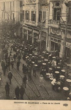 Picture Postcards, Thessaloniki, Macedonia, Old World, Old Photos, City Photo, Greece, The Past, History