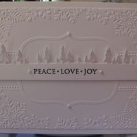 Item #6895 · Memory Box · Heart Prints