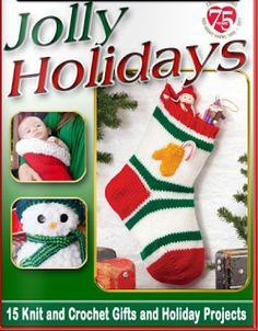Crochetpedia: Crochet Books Online - Red Heart Holiday Patterns~...free online book..check out these cute patterns and ideas!