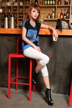 Summer, T-Shirt, Lace, Print, YRB2072, YRB Fashion, Europe C Man, Free Shipping…
