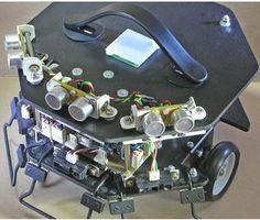 Build an autonomous, open source, self navigating robot http://www.instructables.com/id/How-to-build-a-self-navigating-Robot/