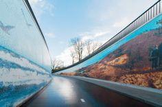 Fietstunnel  mozaiekonline | mozaiek.com utrecht