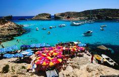 Comino Island in Malta