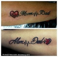 Queen and king meaningful tattoos for family, family tattoos, mother tattoos, mom dad Mum And Dad Tattoos, Tattoos For Dad Memorial, Daddy Tattoos, Tattoos For Daughters, Tattoos For Guys, Tatoos, Memory Of Dad Tattoo, Wrist Tattoos Girls, Meaningful Tattoos For Family
