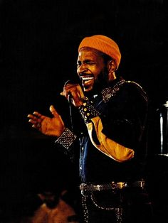 Marvin Gaye.Can we get some sexual healing up in here.
