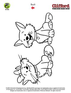 clifford coloring pages clifford birthday party pbs parents pbs coloring pages pinterest birthdays and birthday party ideas