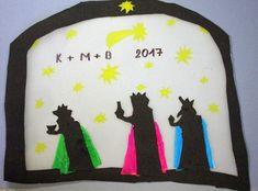 Tři králové. Vytvořili školáci v našem výtvarném studiu. Studios, Pictures