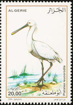 мар54Birds on stamps: Algeria Algerije Algérie