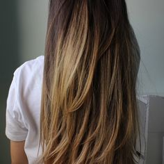 I love the highlights but i would maybe do the top of her head a little darker