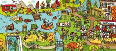 Starter activity - describe the image Spanish Practice, Spanish Class, Teaching Spanish, Caravan, Secondary Teacher, Great Schools, Thematic Units, School Daze, Illustration