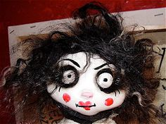 VOODOO DOLL day of the dead 10 tall by VOODOODOLLYS on Etsy, €52.00