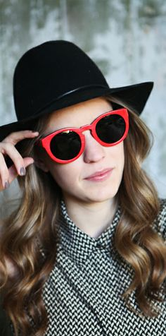 Coral Wood Sunglasses #womensfashion #sunglasses #style