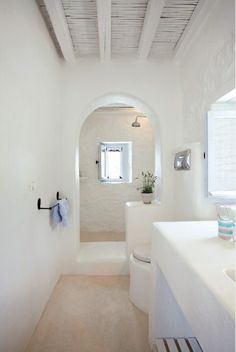 15 ideas for bathroom tadelakt Source by dfrancoise Bad Inspiration, Bathroom Inspiration, Inspiration Boards, Adobe Haus, Interior And Exterior, Interior Design, Tadelakt, Bathroom Interior, White Bathroom