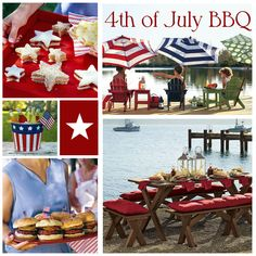 4th Of July Tabelscape Created With The New Tablescapes