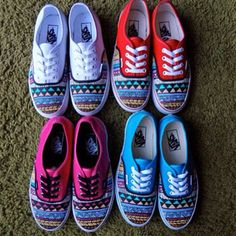 aztec vans -- WANT NOW. Definately getting Aztec vans soon